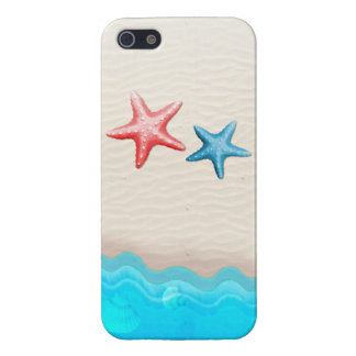 Sandy Beach And Starfish iPhone 5/5S Covers