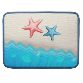 Sandy Beach And Starfish Sleeve For MacBook Pro