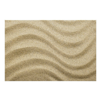 Sandy Beach Background 1 Posters
