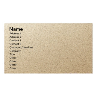 Sandy Beach Background Double-Sided Standard Business Cards (Pack Of 100)