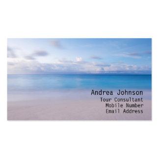 Sandy Beach Business Card