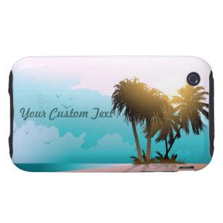 Sandy Beach Tough iPhone 3 Cover