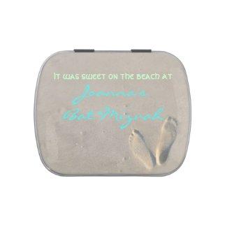 SANDY Beach Gift Memory Keepsake Tin Candy Tin