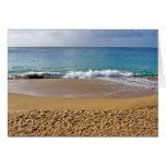 Sandy Beach Greeting Card