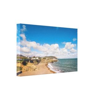 Sandy beach in Ireland Canvas Print