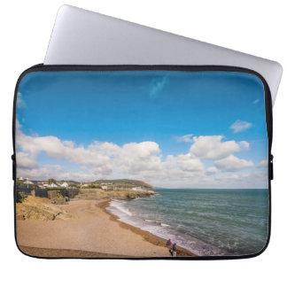 Sandy beach in Ireland Laptop Sleeve