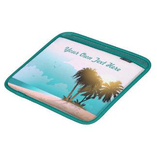 Sandy Beach iPad Sleeve