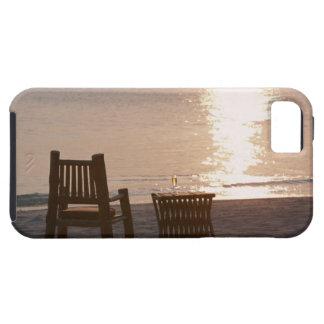 Sandy Beach of Sunset 2 iPhone SE/5/5s Case
