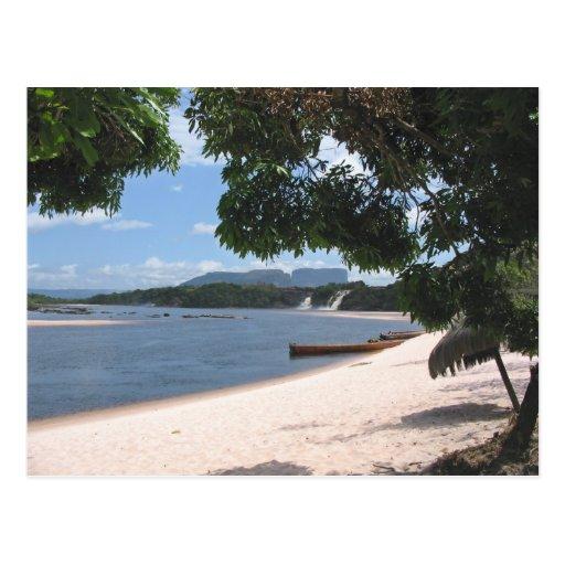 Sandy Beach Post Card