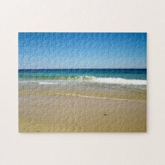 Sandy beach puzzle