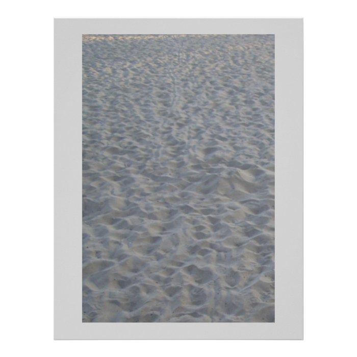 Sandy Beach Scrapbooking Paper Letterhead