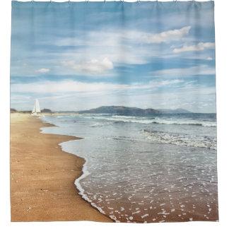 Curtains Ideas beach shower curtain : Sandy Beach Shower Curtains | Zazzle