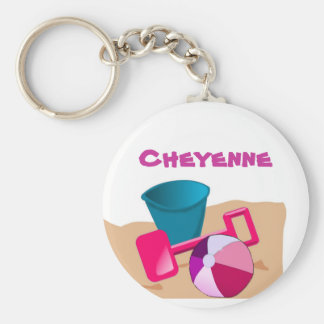 Sandy Beaches - Pinks Keychain