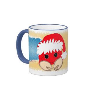 Sandy Claws Ringer Mug