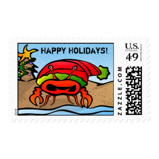 Sandy Claws Stamp