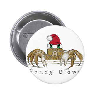 Sandy ClawsTrans Pinback Button