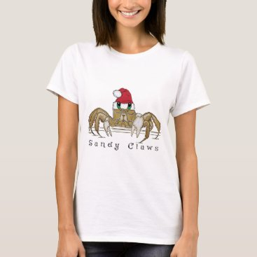 Beach Themed Sandy ClawsTrans T-Shirt