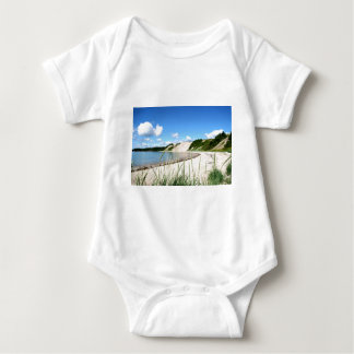 Sandy Cove Beach Baby Bodysuit