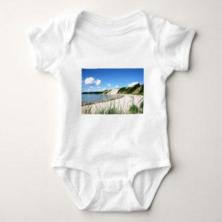 Sandy Cove Beach Baby Bodysuit