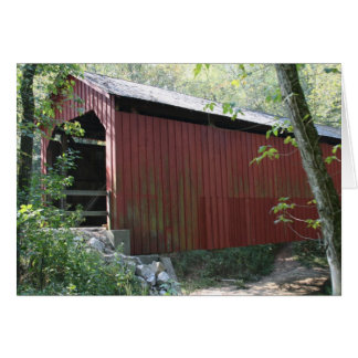 Sandy Creek Covered Bridge Card