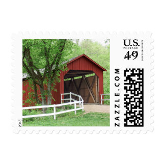 Sandy Creek Covered Bridge Hillsboro, Missouri Postage
