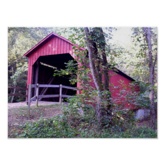 Sandy Creek Covered Bridge Poster