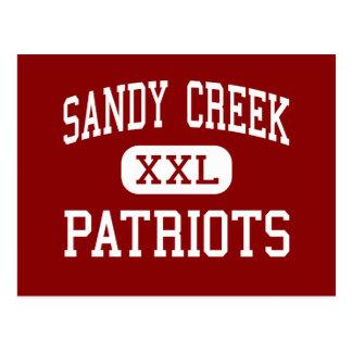 Sandy Creek - Patriots - High - Tyrone Georgia Postcard