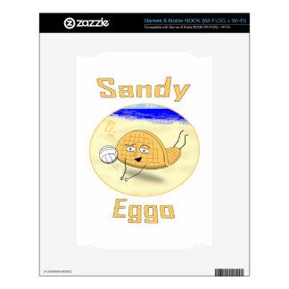 Sandy Eggo Decals For The NOOK