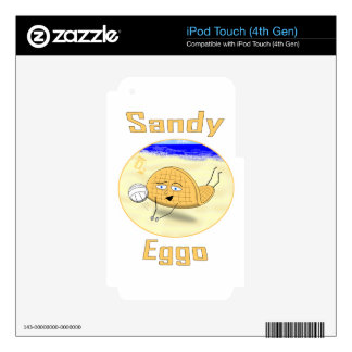 Sandy Eggo iPod Touch 4G Skin