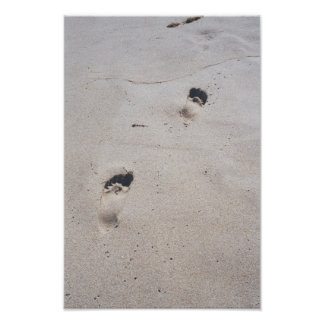 Sandy Feet Poster