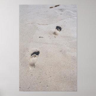 Sandy Feet Posters