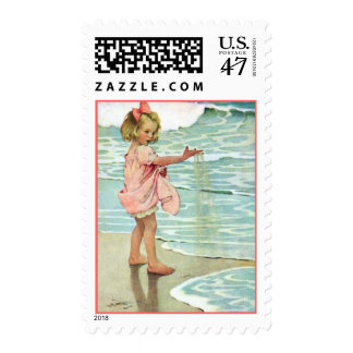 Sandy Girl - Pink Stamp