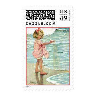 Sandy Girl - Pink Stamp