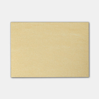 Sandy Gold Post-it® Notes