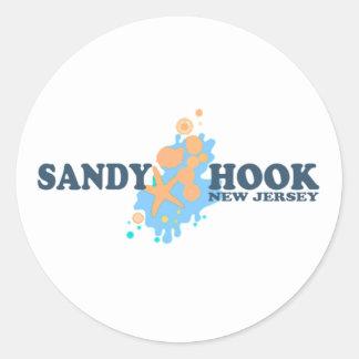 Sandy Hook. Classic Round Sticker