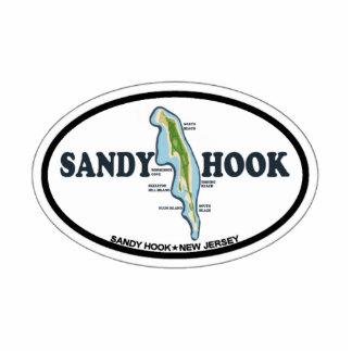Sandy Hook. Cutout