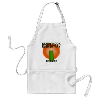 SANDY HOOK ELEMENTARY CANDLE ADULT APRON