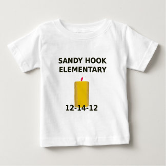 SANDY HOOK ELEMENTARY CANDLE BABY T-Shirt
