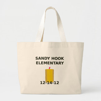 SANDY HOOK ELEMENTARY CANDLE TOTE BAGS