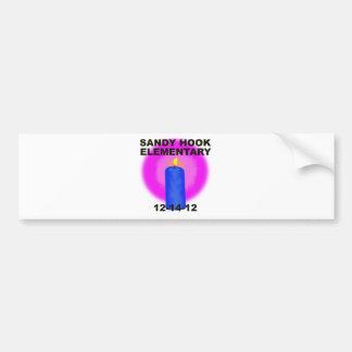 SANDY HOOK ELEMENTARY, candle Bumper Sticker