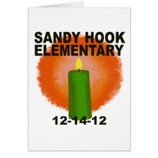 SANDY HOOK ELEMENTARY CANDLE GREETING CARD