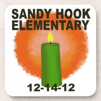 SANDY HOOK ELEMENTARY CANDLE DRINK COASTER