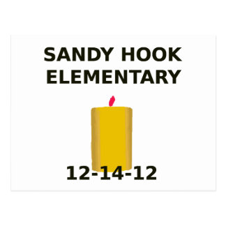 SANDY HOOK ELEMENTARY CANDLE POSTCARD