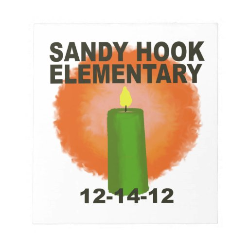 SANDY HOOK ELEMENTARY CANDLE SCRATCH PAD