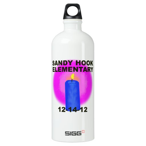 SANDY HOOK ELEMENTARY, candle SIGG Traveler 1.0L Water Bottle