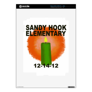 SANDY HOOK ELEMENTARY CANDLE SKIN FOR THE iPad 2
