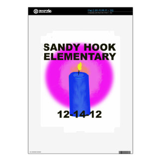 SANDY HOOK ELEMENTARY, candle Skins For The iPad 2