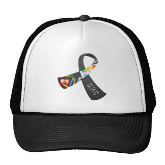 Sandy Hook Elementary Memorial Ribbon Trucker Hat