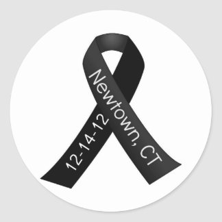 Sandy Hook Elementary Newtown Shooting Memorial Classic Round Sticker