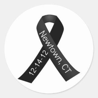 Sandy Hook Elementary Newtown Shooting Memorial Classic Round Sticker